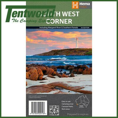 Hema South West Corner: Margaret River & Southern Forests Map - Edition 3