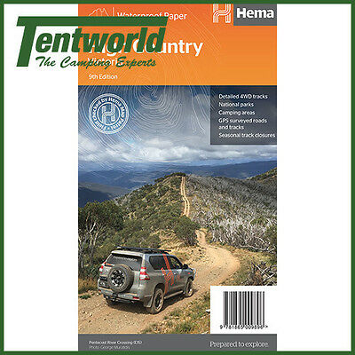 Hema High Country Victoria Map - Edition 9