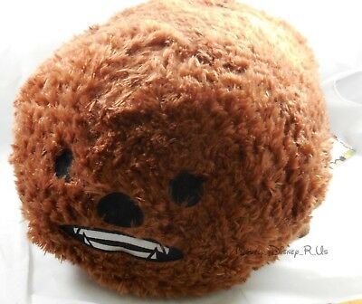 "New Disney Store USA Star Wars Chewy Chewbacca Tsum Tsum Plush 18"" Large Toy"