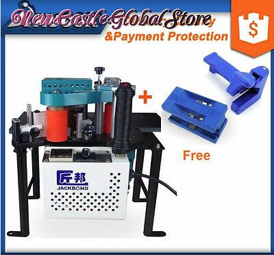 double glue cover portable edge bander banding wood machine for straight & bevel