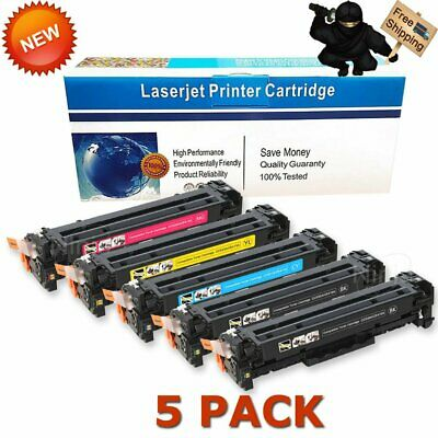 3PK Color Toner Cartridge For HP LaserJet Pro M475DW 5PK 305A 2PK CE410A Black
