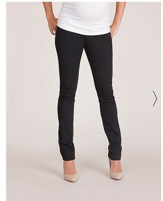 Seraphine Maternity NEW Black Slim Leg Jeans  12