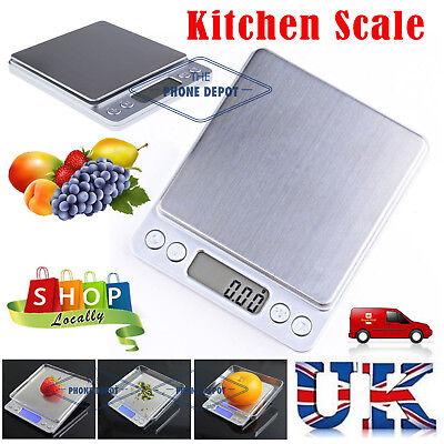 0.01-500g Electronic LCD Digital Postal Scales Kitchen Food Scale Jewels Weight