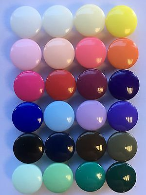 Small Tiny Shank Buttons Crafts 8mm / 13L Colour Choice & Pack Sizes