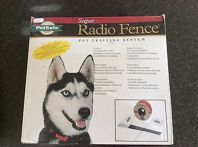 Petsafe Super Radio Fence, wire in ground Pet Containment System
