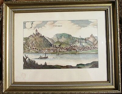 Antique Hand Coloured Engraving
