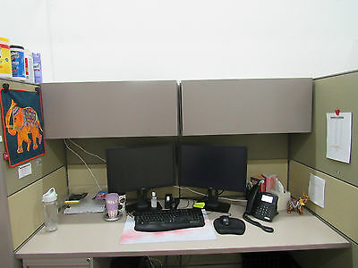 4 Large Office Cubicles