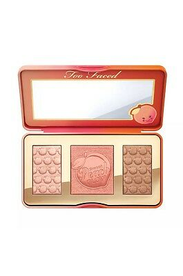 New Too Faced Sweet Peach Glow Kit Bronze Palette