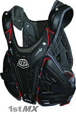 Troy Lee Designs Shock Doctor BG5900 Chest Protector BLACK Adult Medium