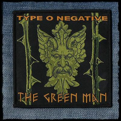 Type O Negative The Green Man October Rust woven patch aufnäher