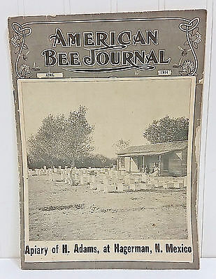 Antique AMERICAN BEE JOURNAL April 1914 Iss Vtg Bee Keepers Magazine Apiary Book