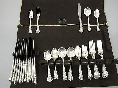 Old Master by Towle Sterling Silver Flatware Service for 12 60 Pieces in Total