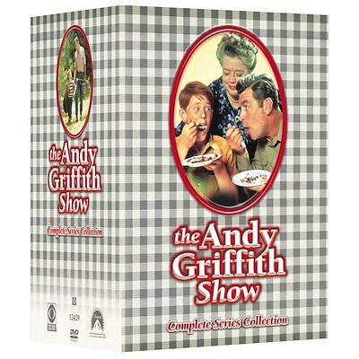The Andy Griffith Show: Complete TV Series Seasons 1 2 3 4 5 6 7 8 Boxed DVD Set
