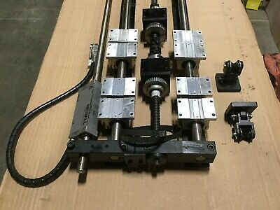 Long Linear Stage Positioner-Pillow Blocks-Ball Nuts-Incremental Encoder *Detail