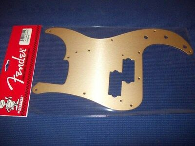 NEW - Fender Pickguard For '57 P. Bass - GOLD ANODIZED, 099-2020-000