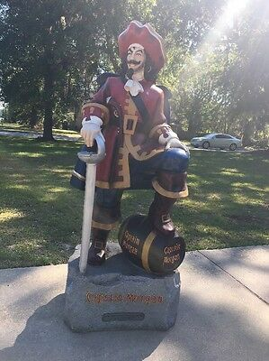 4-foot Captain Morgan Statue