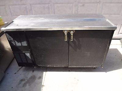 "Glas Tender Lp-60-L6 60"" Bar Back Beer Cooler, Mug Chiller.  Oldie But A Goodie"