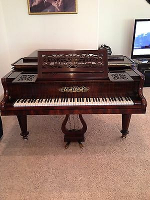 Antique Collard & Collard Drawing Room Grand Piano
