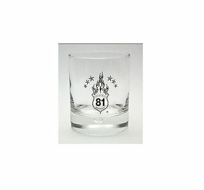"""Hells Angels Support Whiskey Glas """"Disco81"""" Original 81 Support"""