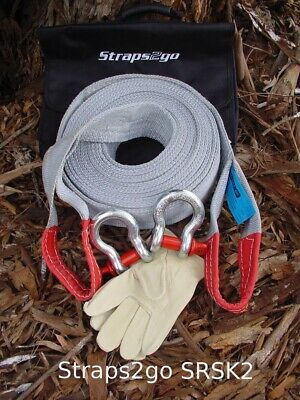 Straps2go 4x4 Recovery Heavy Duty Snatch Kit