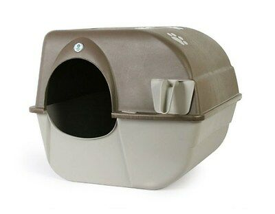 NEW Omega Paw Self Cleaning Litter Box, Easy Assembly & Easy to use, Large