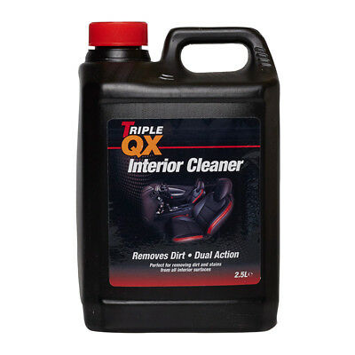 Triple QX 78073 2.5L Upholstery Interior Cleaner 2.5 Litre Dual Action Car Care