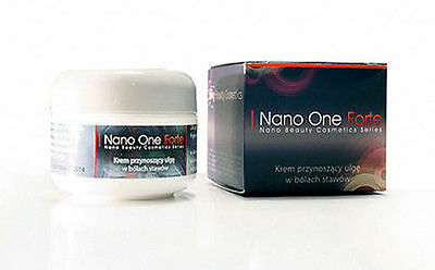 Nano One Forte Colloidial Cream With Silver, Gold, Platinum, Hemorrhoids, Joints