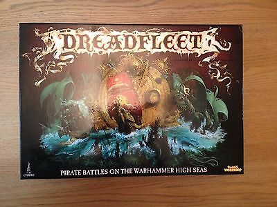 Dreadfleet Game and Phil Kelly Book Brand New - Games Workshop Fantasy Warhammer