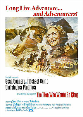 The Man Who Would Be King (1975) - A1/A2 POSTER **BUY ANY 2 AND GET 1 FREE**