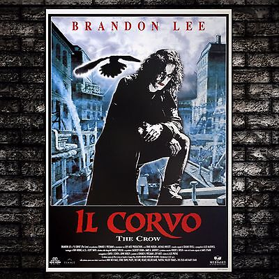 Film Poster The Crow - Il Corvo - 70x100 CM - Brandon Lee