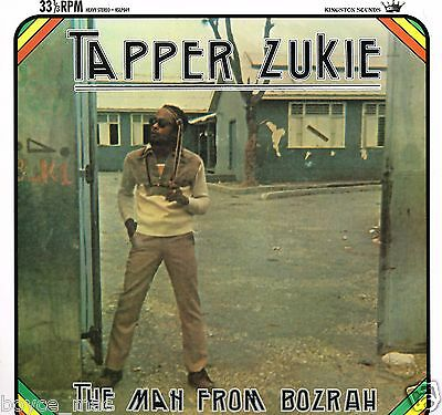 TAPPER ZUKIE-the man from bozrah  LP  kingston sounds    (hear)   reggae roots
