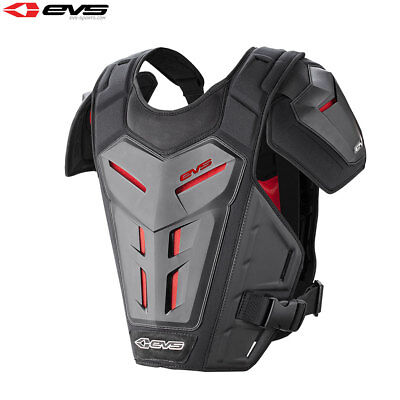 EVS Revo 5 Motocross Enduro Off Road Under Armour Chest Protector Adult - Black