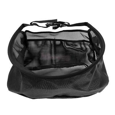 Durable Fly Fishing Line Tray Case Line Casting Stripping Basket Waist Bag