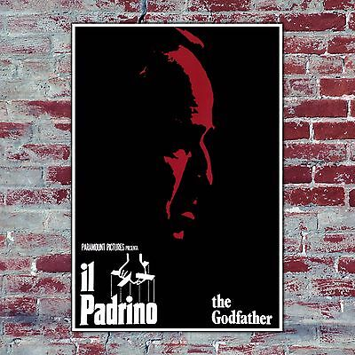 Film Poster The Good Father - Il Padrino - 70x100 CM - Marlon Brando