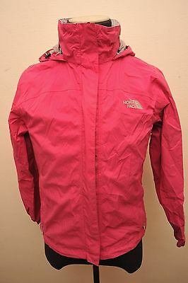 North Face Womens Medium Hyvent Waterproof Jacket Pink Ge37