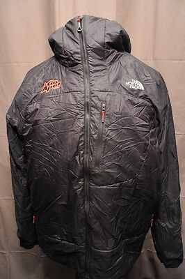 North Face Technical Primaloft Mens Xl Softshell Hooded Hiking Jacket Black Fz50