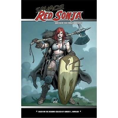 Savage Red Sonja: Queen of the Frozen Wastes - Brand new!