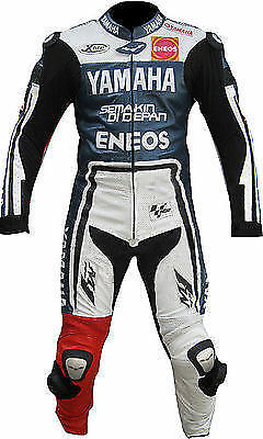 Yamaha Motorbike Leather Suit Sports Motorcycle Racing Leather Suit Armors