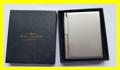 Moet Chandon Champagne Notepad And Pen Still In Original Box,pen Works