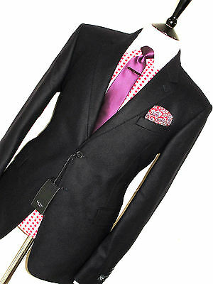 Nwt Mens Paul Smith London Navy Cashmere Feel Wool Sports Suit Jacket Blazer 42R