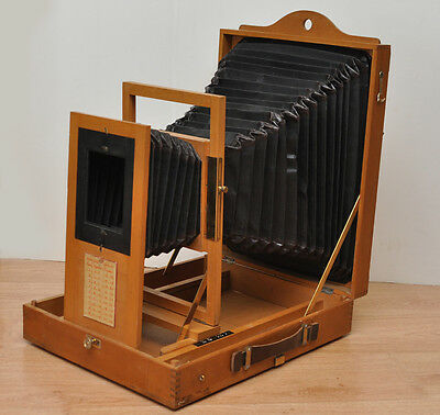 Very nice and rare portable Repro Camera, with lens, for plate to 9x12 up 13x18c