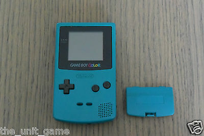 Console Nintendo Gameboy Color Couleur Turquoise    Game Boy