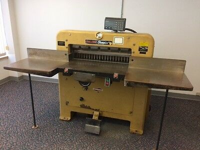Commercial Hydraulic Paper Cutter  $1950.00