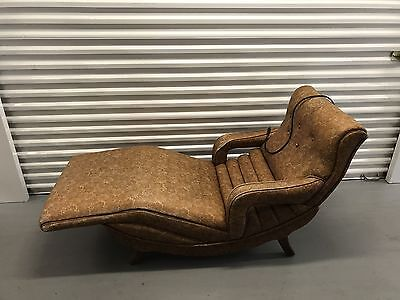 Vintage Mid-Century Modern GENUINE CONTOUR CHAIR Lounge Recliner Vibrating