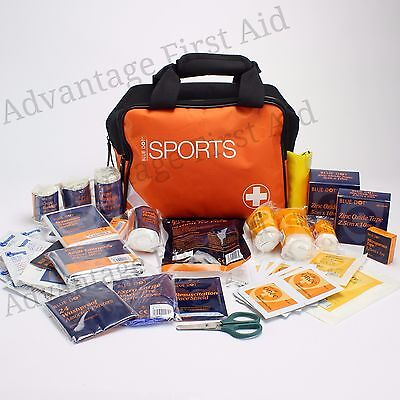 Astroturf Sport Trousse De Secours En Sac Rugby Football équipe Physio Astro