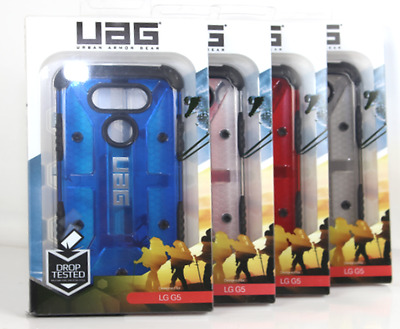 Urban Armor Gear UAG Military Composite Hybrid Clear Transparent Case for LG G5