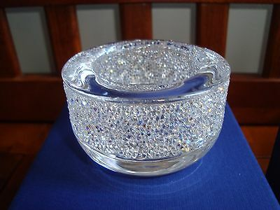 Swarovski Tealight Holder - Shimmer Clear Crystal 5108868 NIB.