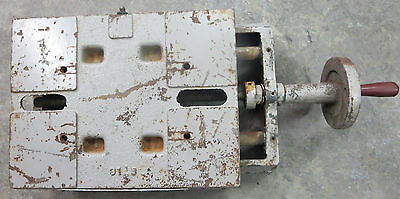 Reliance H386 Reeves Drive Pulley Motor Mounting Base