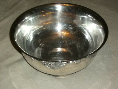 "Wallace ""Harvest"" Silver-plate Punch Bowl. Circa 1940"