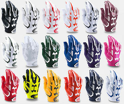 Under Armour Men's UA 2017 F5 Adult Football Receivers Gloves - Many Colors